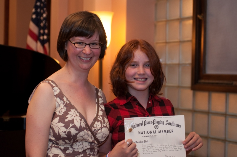 Celebrating the National Piano Guild Auditions!
